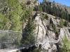 Hängebrücke 1827m  Aspi-Titter 120m Tiefe