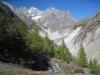 Klein Wannenhorn 3706m; Fieschergletscher