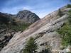 vom Fieschergletscher abgeschliffenen Felsen