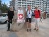 Edit, Bruni und Brigitte in San Augustin
