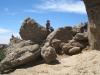 Klettern beim Roque nublo