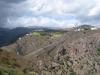 der Rand der Caldera Bandama