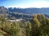 Sicht vom Hotel las Tirajanas auf die Bergkette und San Bartolome