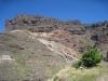 die farbigen Felsformationen von Veneguera