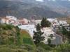 Sicht auf das Dorf  Artenara