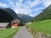 Bilck zurück ins Weisstannental; mi Horn 1840m