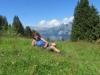 Marianne auf Alp Stutz 1473m