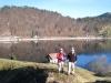 Brigitte und Hanspeter vor dem Wägitalersee