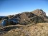 Sicht auf den Grat zur Windegg; Chli Aubrig