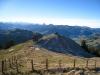 Blick auf die Windegg 1509m; li   hi Sihlsee