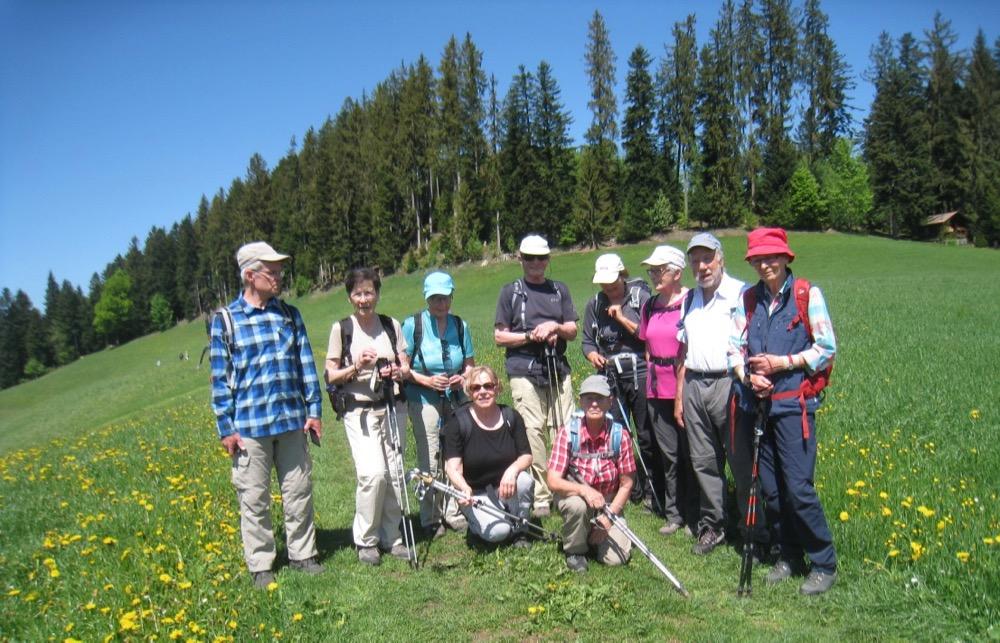 Gruppenbild bei der Chläbi