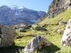 malerische Landschaft mit Clariden 3268m, Chamliberg 3215m