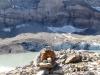 Clariden;  der Claridengletscher mit Gletschersee