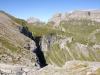 Wasserfassung beim Fätschbach;  Schächentaler Windgällen 2764m, Mälcher Stöckli 2382m, Glatten 2505m