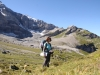 hi : im Griess mit Gletschersee; vo das Firnband: re Rau Stöckli 2468m
