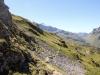 der Clariden Höhenweg Richtung Klausenpass