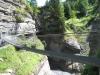 in der Dala Schlucht; Hängebrücke
