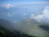 Sicht vom Rochers de Naye auf Montreux und Vevey