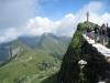 Gipfelkreuz Rochers- de -Naye  2042m