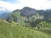 Sicht beim Abstieg vom Dent de Jaman