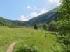 Weg gegen den Col de Pillon