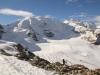 Pers Gletscher : Piz Palü  Ost 3882m, Piz Palü 3908m, Piz Palü West 3823m, Bella Vista Ost 3799m, Bellavista 3890m, Bella Vista West 3922m, Piz Zupn 3996m,Crast Agüza 3854m