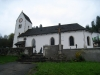 Glasmalereien in der Kirche von Soubey