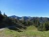 ein Blick zurück; Augstenberg 2359m, ho  re Falknis