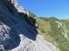 beim Aufstieg im Abhang des Stachlerkopfes T3