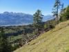 Gauschla 2310m, Alvier 2343m, Chrummenstein 2261m,  Fulfirst 2384m, Margelchopf 2162m