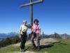 Brigitte und Marianne auf dem Schönberg  2103m