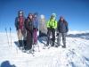 Dreibündenstein 2152m; Regina, Lisa, Kim, Daniela und Marianne