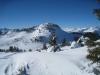 Abstieg vom Dreibündenstein 2152m nach Term Bel   1954m; Tgom Aulta