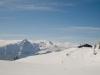 Alpgebäude  Alp dil Plaun; Piz Beverin 2998m, Bruschghorn 3056m