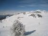 Blick auf Alp dil Plaun und Anhöhe Pkt. 2017m
