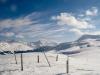 Parpaner Schwarzhorn 2683m, Paroaner Weisshorn 2824m; re Fulenberg