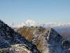 Bettmerhorn: Matterhorn 4478m, Weisshorn 4506m, Gand Combin 4314m, Mont Blanc 4808m