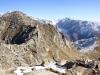 Sicht auf Eggishorn Gipfel 2893m; Gross Wannenhorn 3906m, Klein Wannenhorn 3707m, Finsteraarhorn 4274m, Studerhorn 3638m, Oberaarhorn 3637m, Oberaarrothorn 3477m, Wasenhorn 3447m, Vorder Galmihorn 3571m