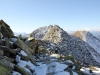 auf  dem Pfad zum Eggishorn Gipfel; Eggishorn, Bettmerhorn