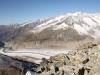 Blick vom Gipfel des Eggishorns 2926m; Gersthorn 2926m, Schilthorn 3122m, Alpjuhorn 3134m, Grisighorn 3134m, Sparrhorn 3020m, Unterbächhorn 3554m, Nesthorn 3822m, 13 Fusshörner, Grosses Fusshorn 3626m, Rotstock 3701m, Geisshorn 3740m,  Sattelhorn 3724m,vo Zenbächenhorn 3386m