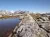 beim Seelein auf dem Tälligrat; Finsteraarhorn 4274m, Studerhorn 3638m, Oberaarhorn 3637m, Oberaarrothorn 3477m, Wasenhorn 3447m, Vorder Galmihorn 3571m