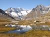 Zenbächenhorn 3386m, Geisshorn 3740m,  Sattelhorn 3724m, Olmenhorn 3314m, Dreieckhorn 3811m