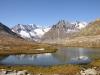 Geisshorn 3740m,  Sattelhorn 3724m, Olmenhorn 3314m, Dreieckhorn 3811m, Jungfrau 4158m