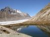 Märjelenseelein; Sattelhorn 3724m, Olmenhorn 3314m, Dreieckhorn 3811m, Jungfrau 4158m