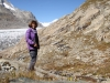 Marianne am Aletschgletscher