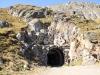 der  Tunnel unter dem Tälligrat