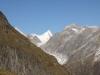 Finsteraarhorn 4274m, Oberaarhorn 3637m, Vorder Galmihorn 3571m