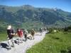 unterwegs; Esel 2689m, Simmelihorn 2751m  Reeti 2757m,  Garstenhorn  2673m , Wildgärst 2890m , Schwarzhorn 2927m