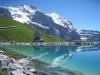 Fallboden-Stausee, Trafostation mit Jungfrau