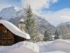 winterliches Unterengadin